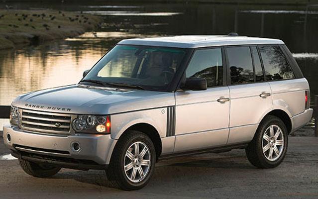 land rover range rover salon de th land rover range rover 2007 guide auto. Black Bedroom Furniture Sets. Home Design Ideas