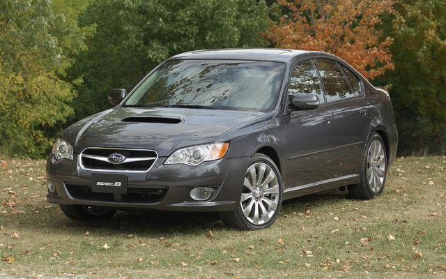2011 Subaru Legacy Sti. Subaru Legacy 2,5GT SpecB