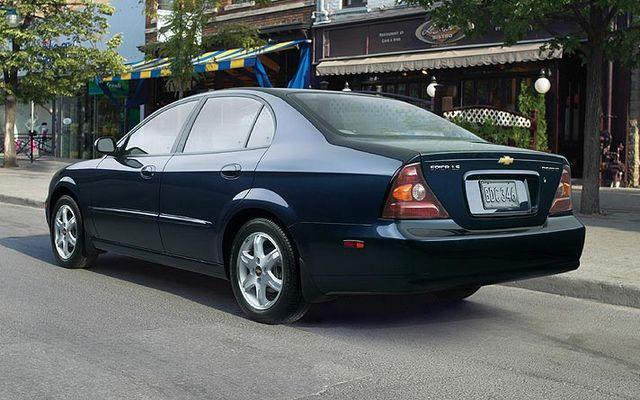 Chevrolet Epica 2008. Chevrolet Epica 2005