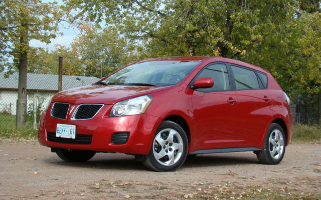 2009 Pontiac Vibe Awd Just As Practical And Now More