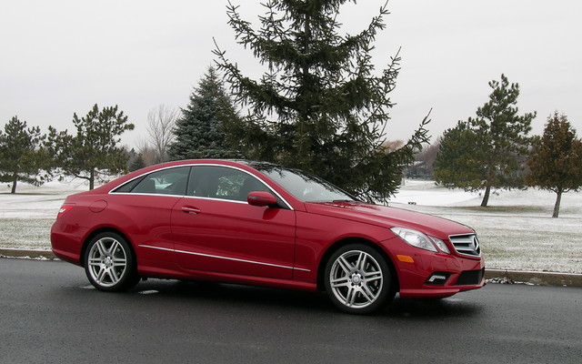 Mercedes e class coupe two doors down and full on style for 2010 mercedes benz e class e350 coupe review