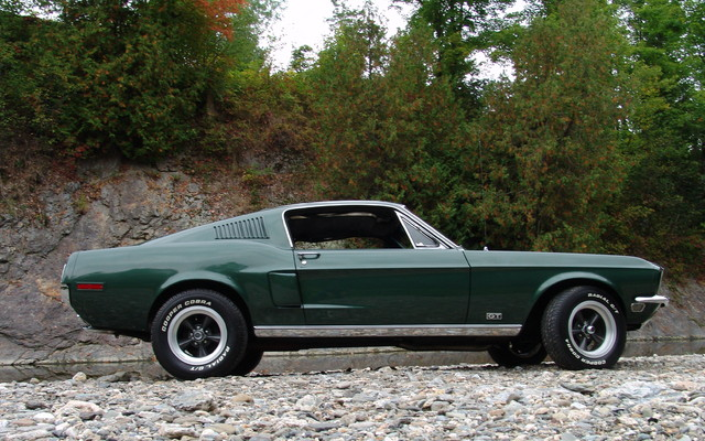 Ford Mustang Gt 1968 Le Style Fastback 224 Son Meilleur