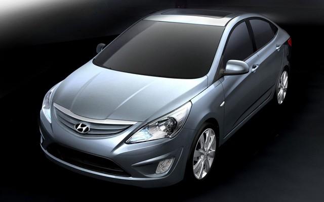 hyundai accent 2011. Hyundai Verna 2011 : Chez nous