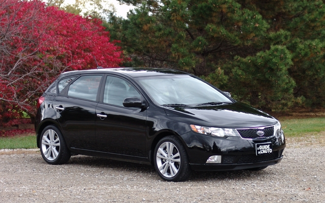 2011 Kia Forte5 A Sedan With A Bigger Trunk Review The Car Guide