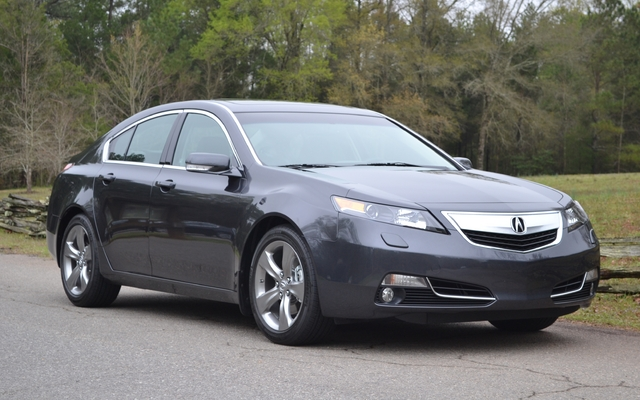 2012 acura tl style exchange review the car guide. Black Bedroom Furniture Sets. Home Design Ideas