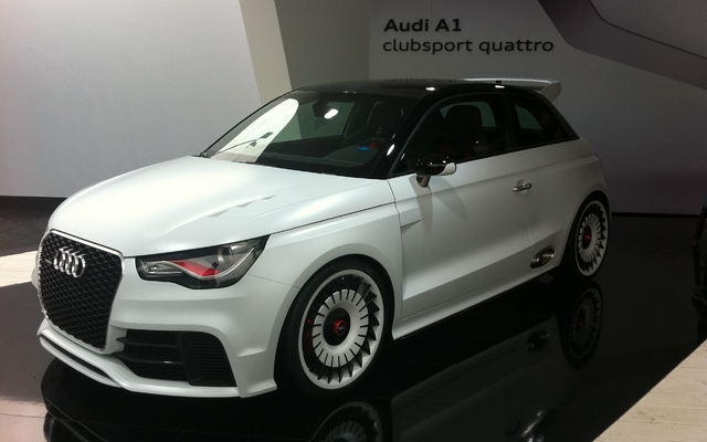 audi a1 concept club sport quattro au stand audi galerie photo 18 40 le guide de l 39 auto. Black Bedroom Furniture Sets. Home Design Ideas