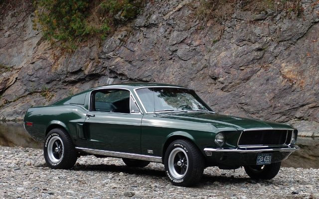 ford mustang 1968 bullitt picture gallery photo 15 21 the car guide. Black Bedroom Furniture Sets. Home Design Ideas