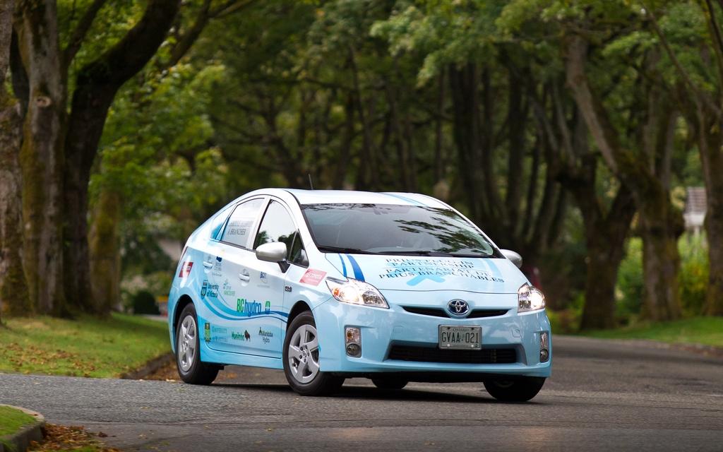 Toyota Prius PHEV Hydro-Québec