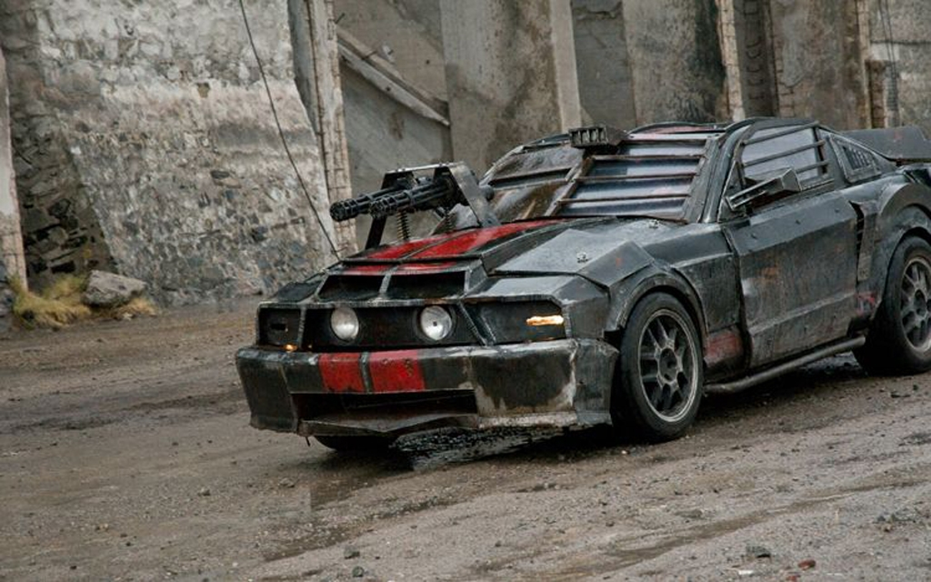 A Very Unique Mad Max 69 Mustang Cars
