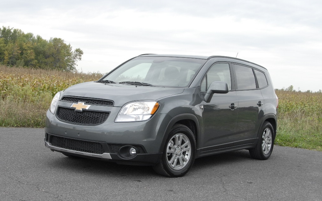 2012 Chevrolet Orlando Exotic Name Acceptable Execution