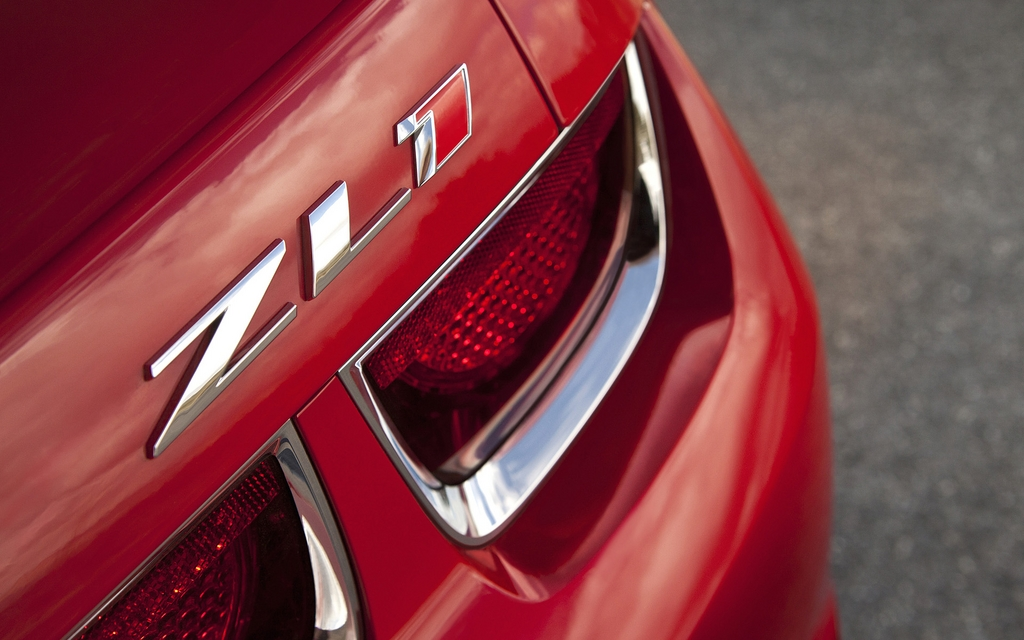Chevrolet Camaro Zl1 2012 Galerie Photo 34 44 Le