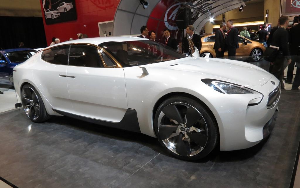 toronto kia gt concept la sportive le guide de l 39 auto. Black Bedroom Furniture Sets. Home Design Ideas