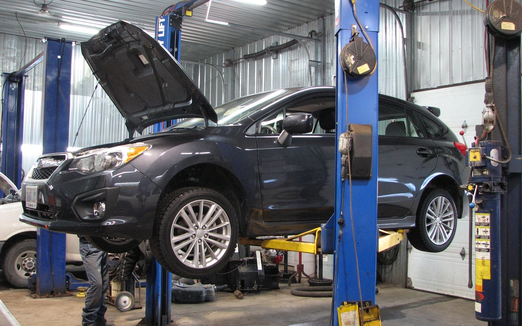 M canique la subaru impreza 2012 passe au garage le for Garage est auto talange