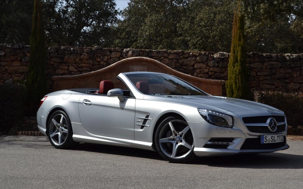 Mercedes benz sl550 2012 l g ret pour cette 6e for Mercedes benz roseville ca