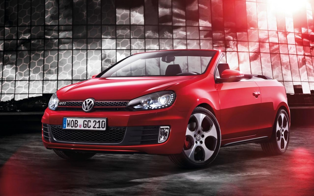 volkswagen golf gti cabriolet une 3e version d capotable volkswagen golf 2013 guide auto. Black Bedroom Furniture Sets. Home Design Ideas