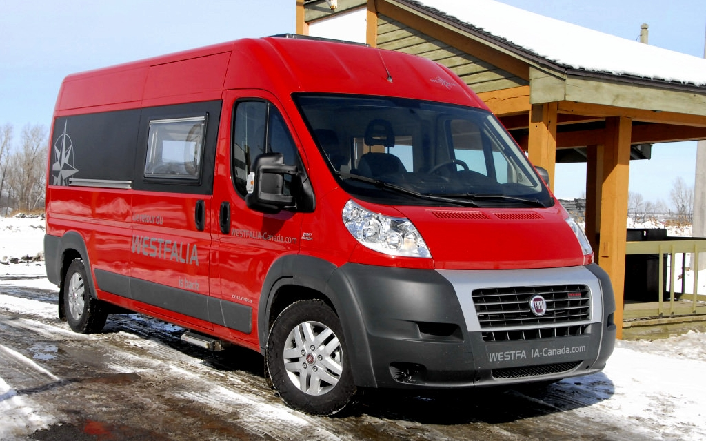 Here's a view of the Westfalia Columbus – an impressive SUV