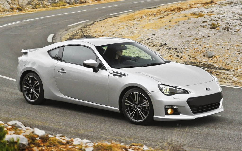 New Models Subaru Canada S All New Sports Coupe Starts
