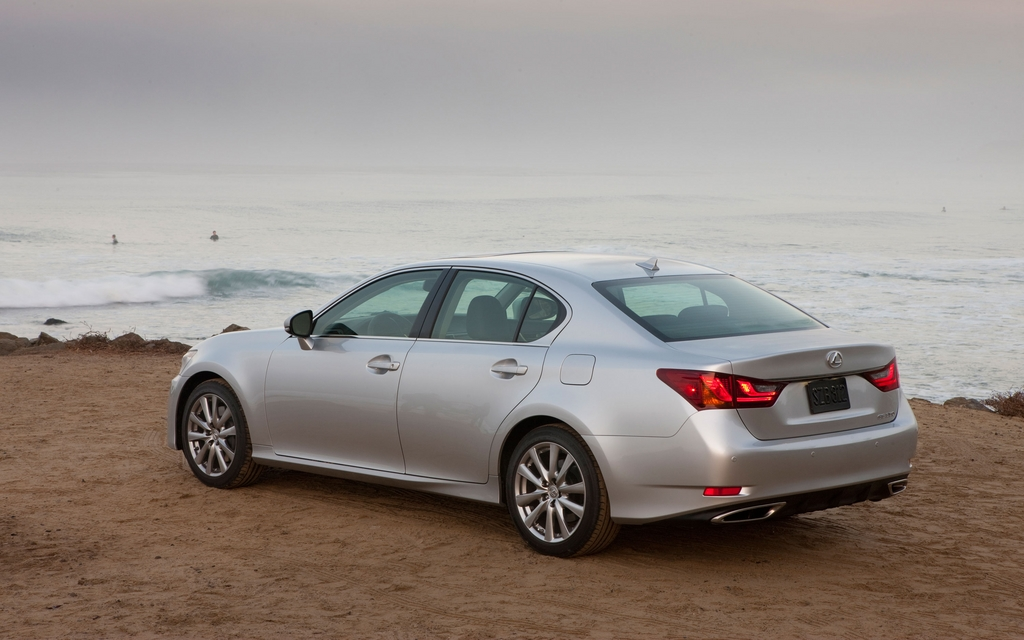 2012 lexus gs350 f sport nearly there review the car guide. Black Bedroom Furniture Sets. Home Design Ideas