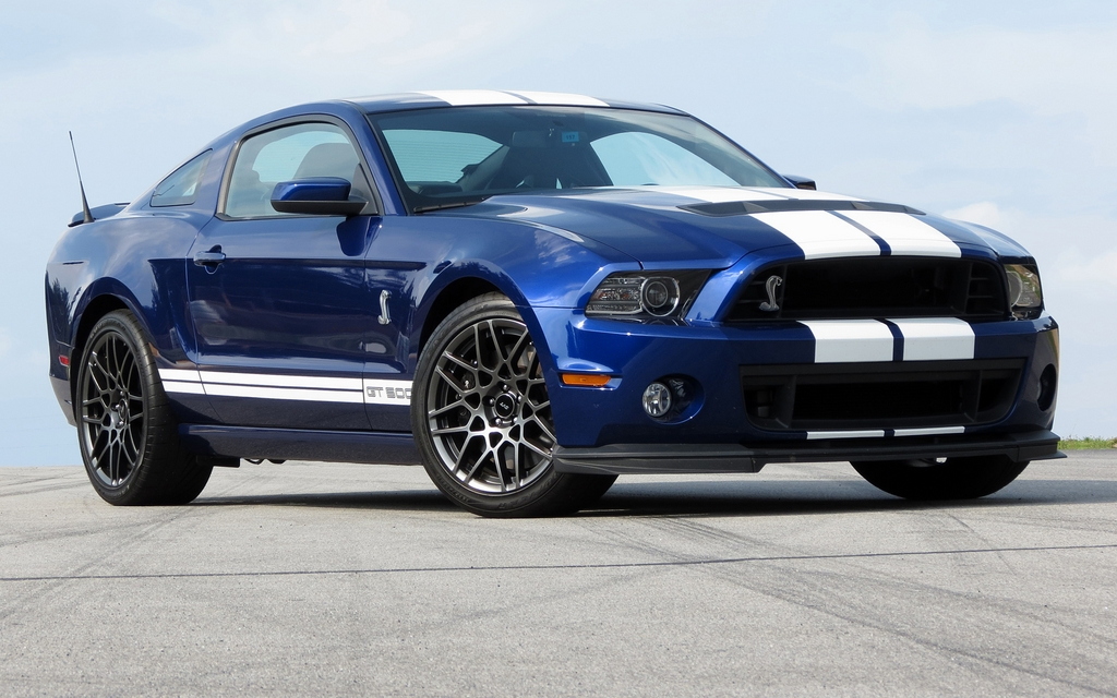 2013 Ford Shelby GT500: Exclusive circuit, highway and ...