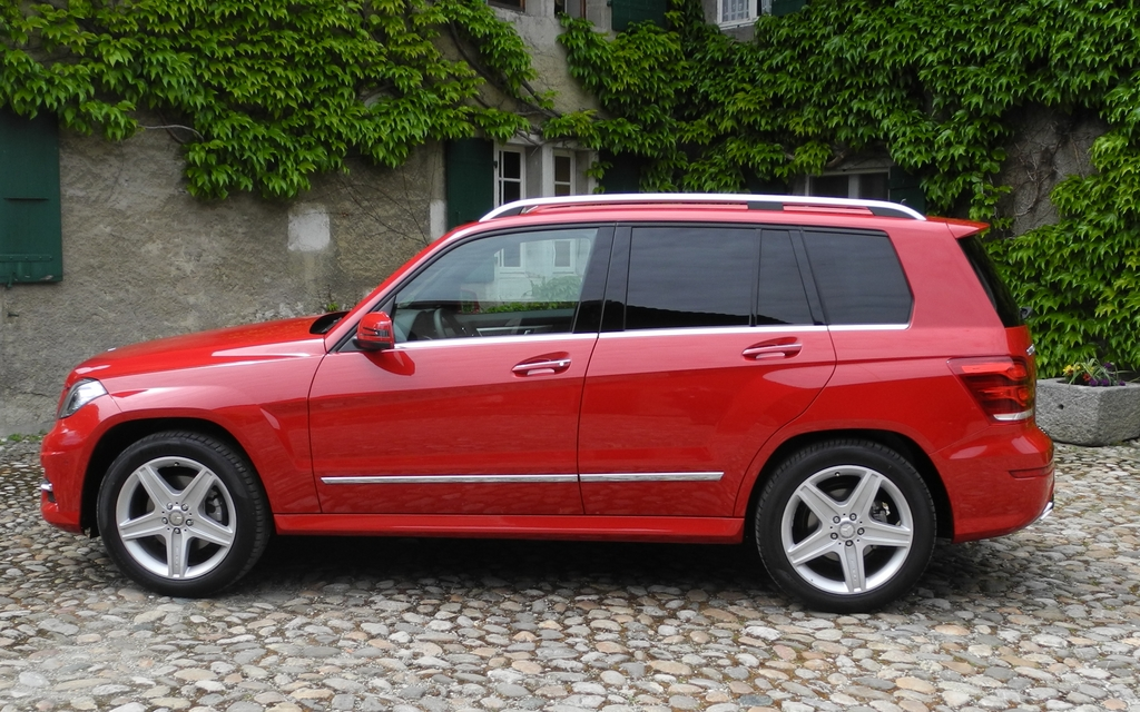 The New Generation Glk Still Features A Square Shape
