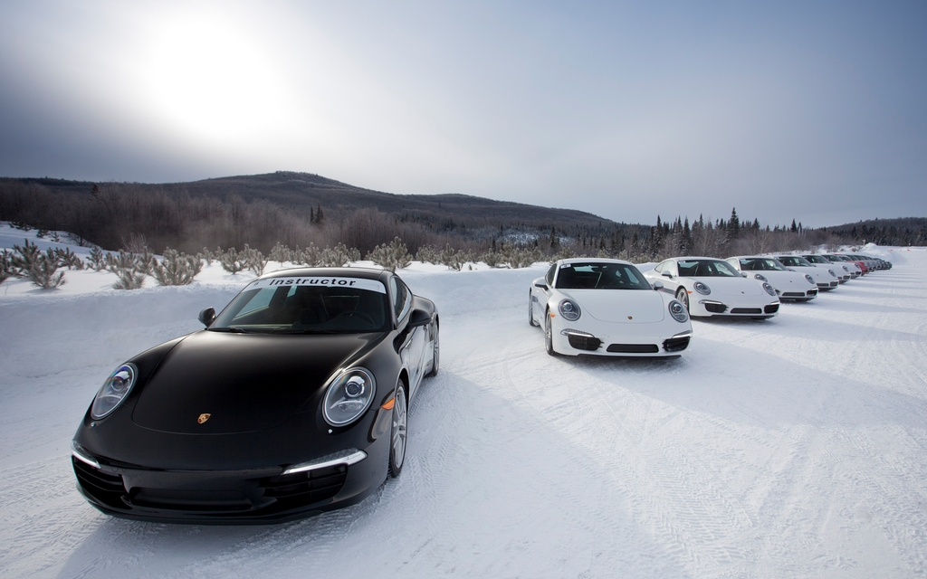 porsche canada selling winter driving Slithering a porsche 911 and cayman sports porsche takes the chill out of driving on at porsche's camp4 winter driving school in quebec, canada.