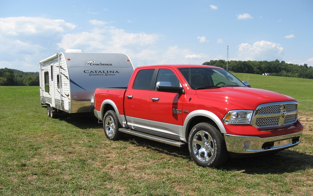 RAM 1500 Laramie 5.7-litre V8: For those who like to travel.