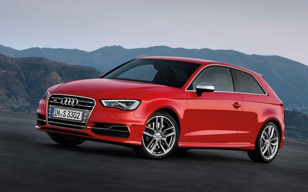2013 audi s3 makes appearance in paris but not canada audi a3 the car guide. Black Bedroom Furniture Sets. Home Design Ideas