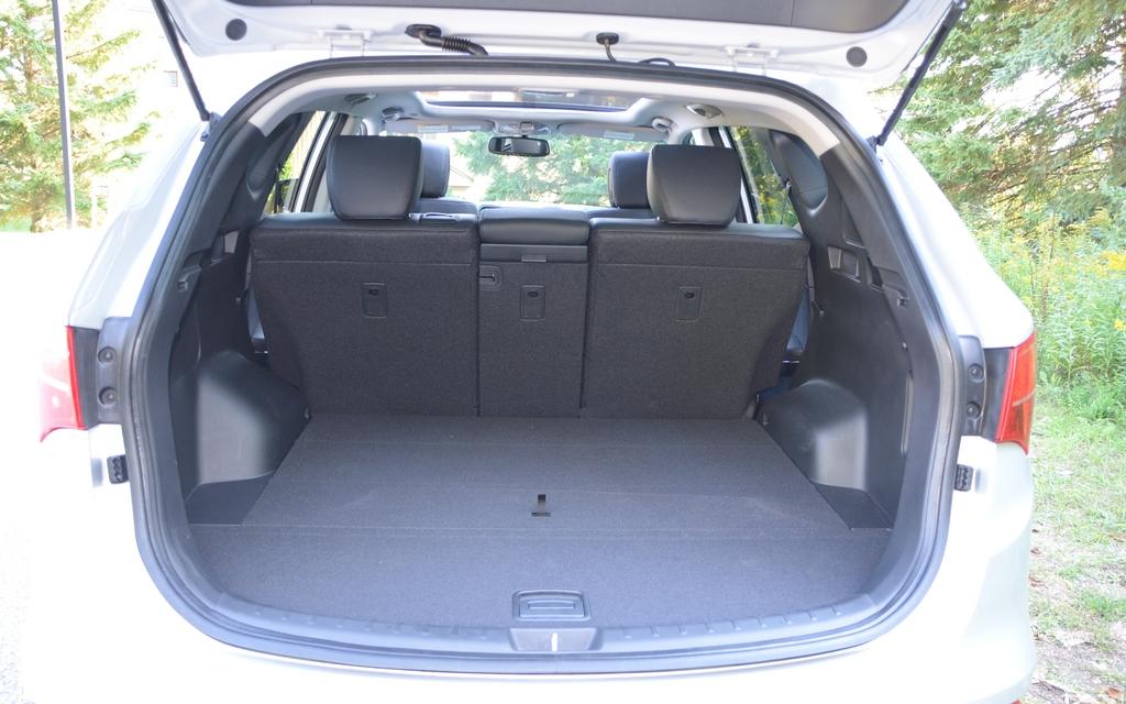 Full Size Rental Car Luggage Capacity