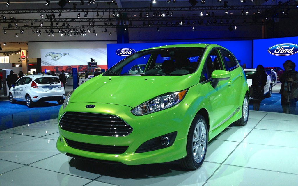 los angeles ford at the l a auto show new fiesta and transit connect 2013 ford fiesta. Black Bedroom Furniture Sets. Home Design Ideas