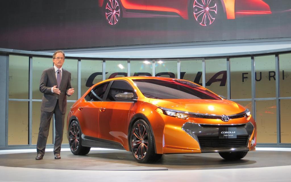 The Toyota Corolla Furia Concept.