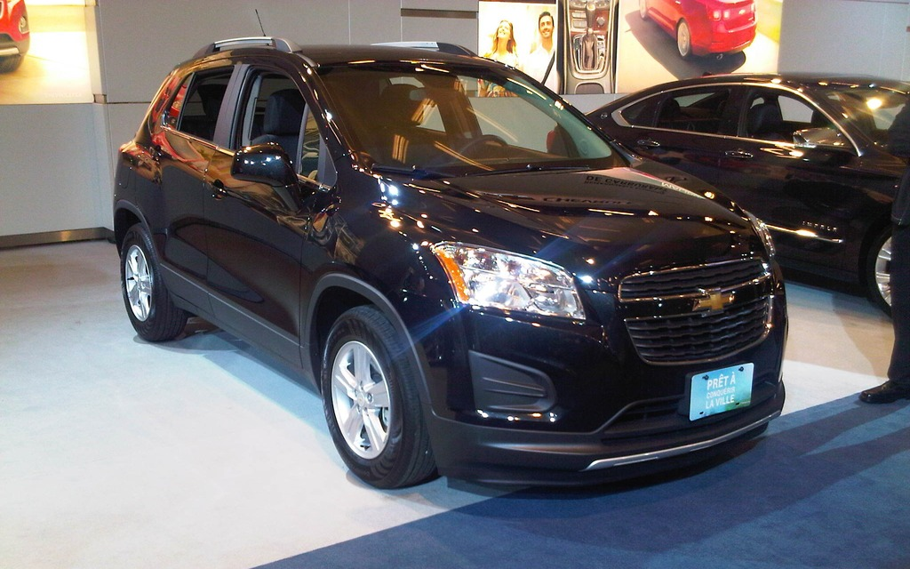 montreal 2013 chevrolet trax small but useful the car guide. Black Bedroom Furniture Sets. Home Design Ideas