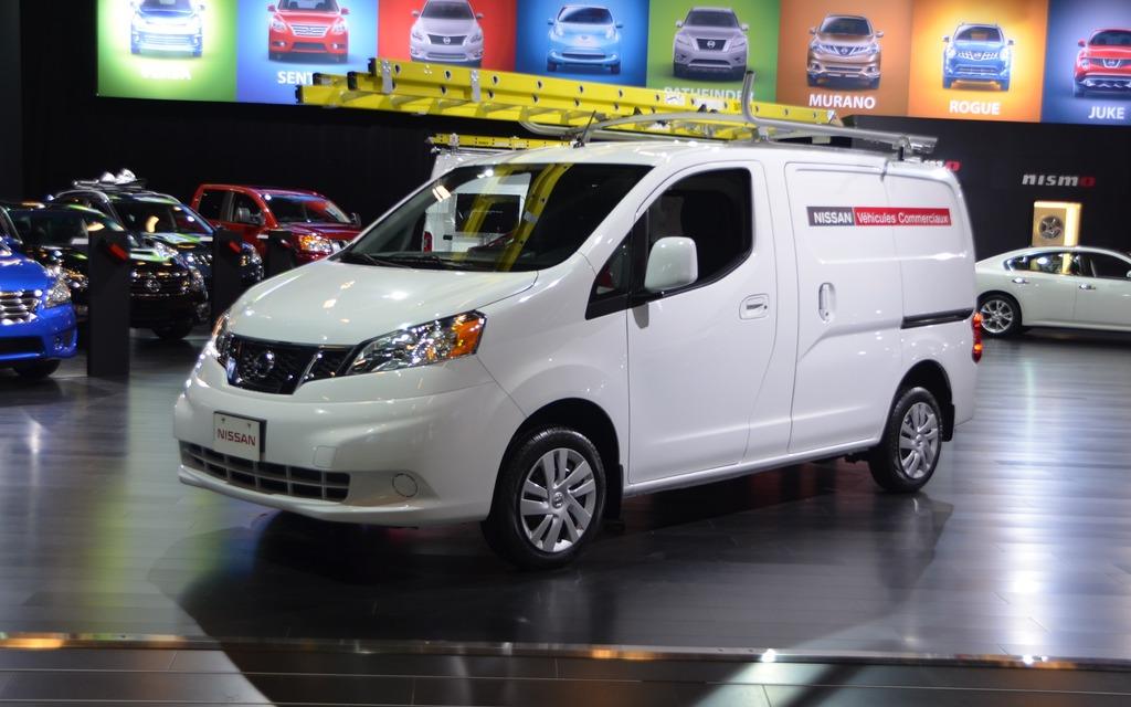 Nissan nv200 compact une premi re canadienne pour le for Salon du canada