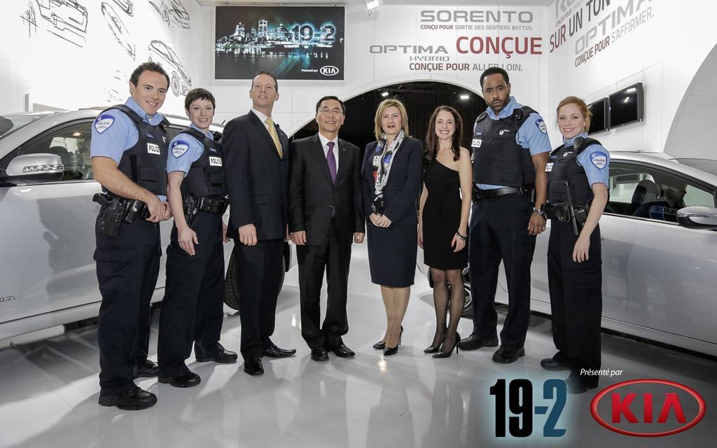 117665 kia canada annonce la commandite de la serie policiere 19. Black Bedroom Furniture Sets. Home Design Ideas
