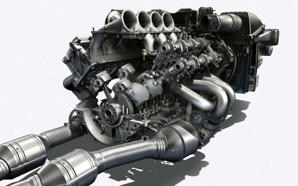 l 39 incontournable moteur v8 de 6 2 litres produit dans la sls amg 63 563 chevaux galerie. Black Bedroom Furniture Sets. Home Design Ideas