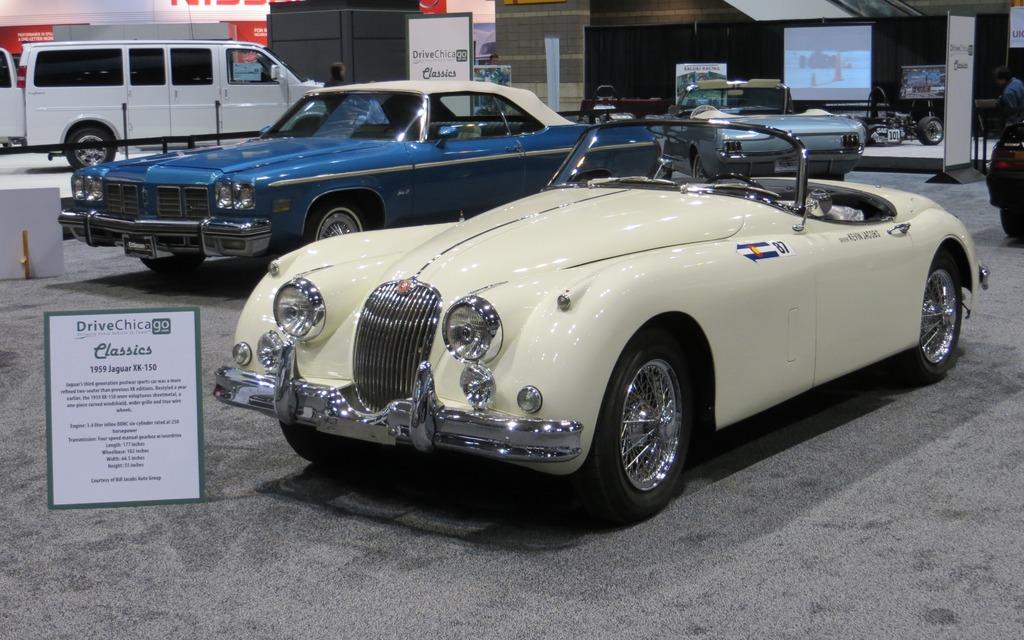 salon de chicago jaguar xk 150 1959 galerie photo 8 34 le guide de l 39 auto. Black Bedroom Furniture Sets. Home Design Ideas