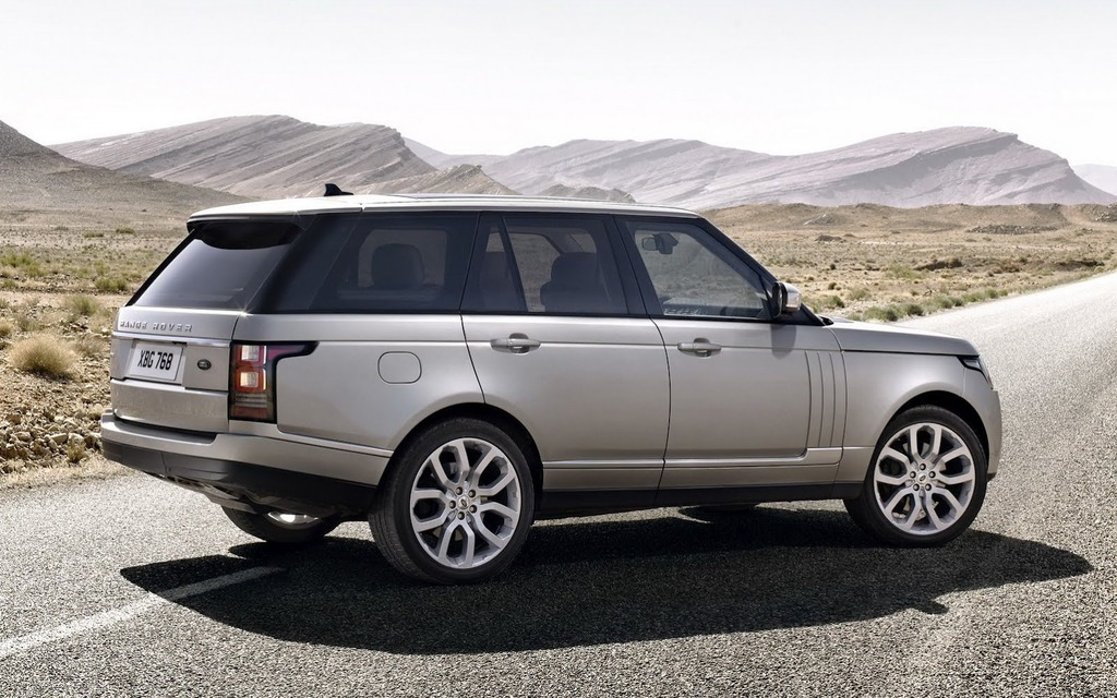 2014 land rover range rover gains supercharged v6 the. Black Bedroom Furniture Sets. Home Design Ideas