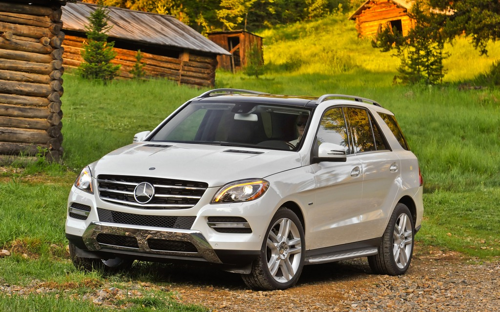 2013 mercedes benz ml350 bluetec 4matic a frugal for Mercedes benz bluetec suv
