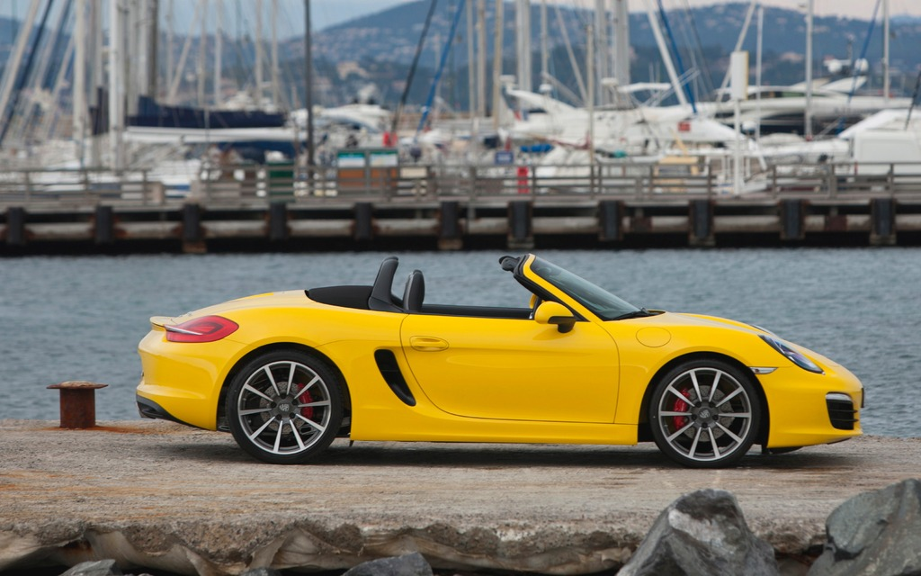 2013 porsche boxster and boxster s the picture of perfection review the car guide. Black Bedroom Furniture Sets. Home Design Ideas