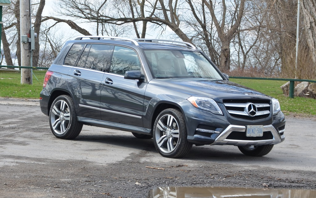 The glk 350 comes factory standard with the amg package for Mercedes benz glk350 amg
