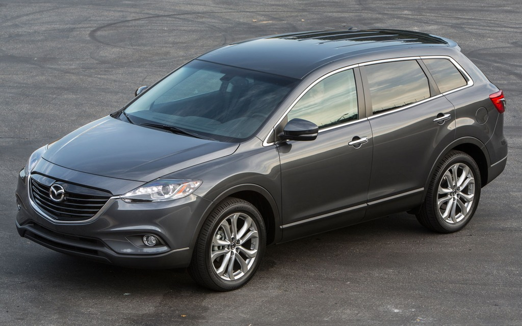 2013 mazda cx 9 style anyone review the car guide. Black Bedroom Furniture Sets. Home Design Ideas