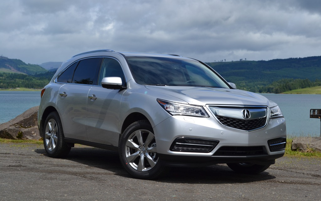 2014 acura mdx deep tissue makeover review the car guide. Black Bedroom Furniture Sets. Home Design Ideas