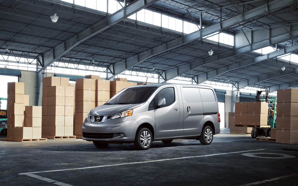 The 2014 Nissan NV200.