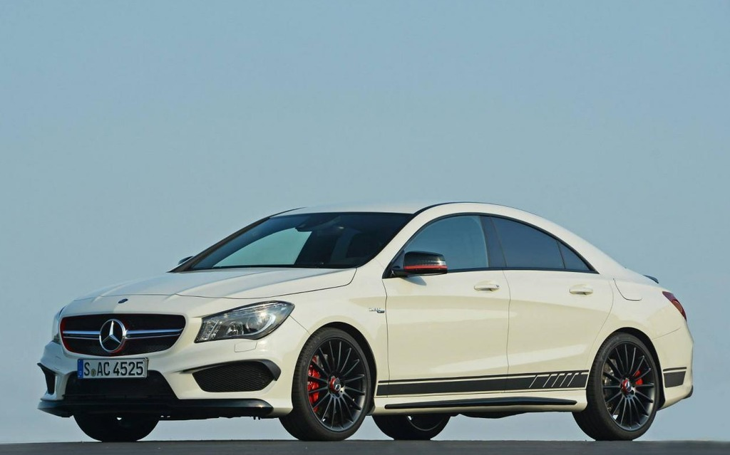 mercedes benz cla 45 amg edition1 la plus agressive mercedes benz classe cla 2014 guide auto. Black Bedroom Furniture Sets. Home Design Ideas