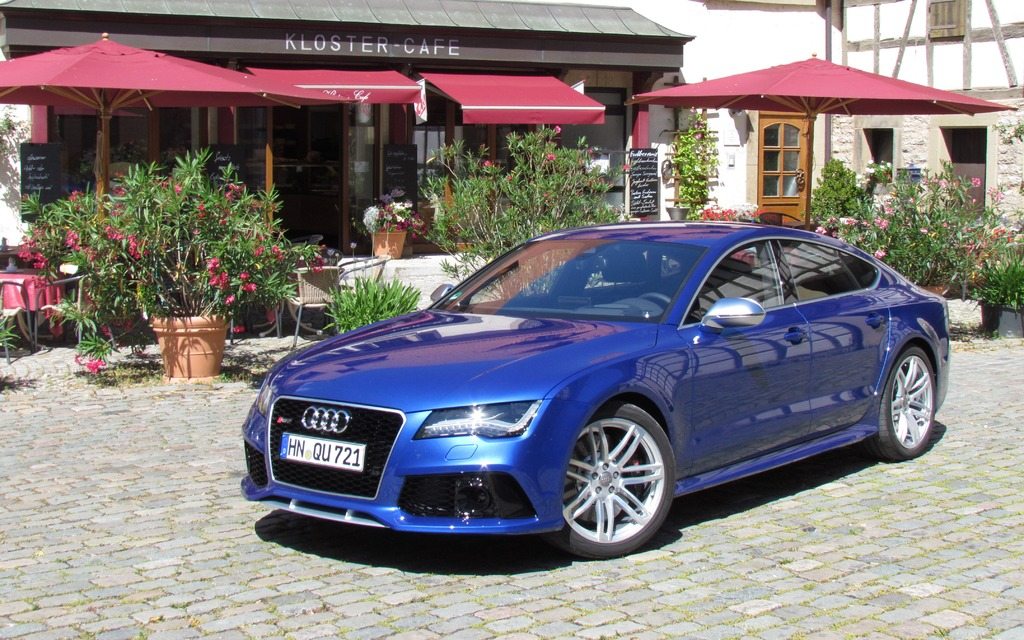 Gallery For Gt 2014 Audi Rs7 Blue