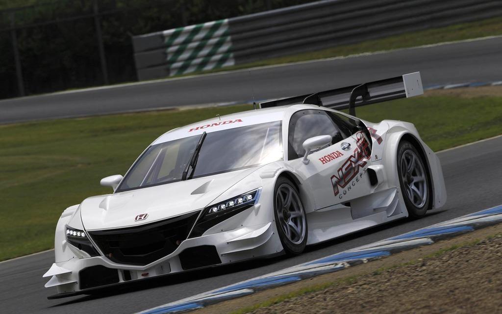 News Honda Nsx Concept Gt On The Suzuka Circuit 2015