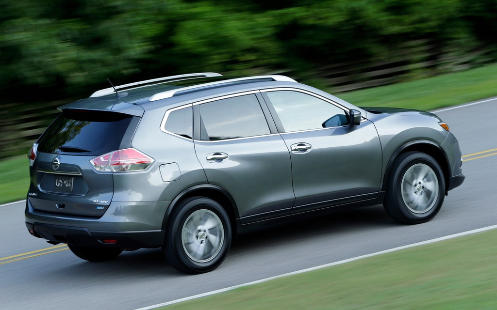 2010 Nissan Rogue Suv S 4dr Front Wheel Drive Exterior 1
