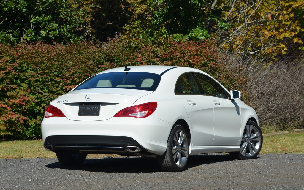 2014 Mercedes-Benz CLA 250 and 45 AMG: Spicy or extra-spicy