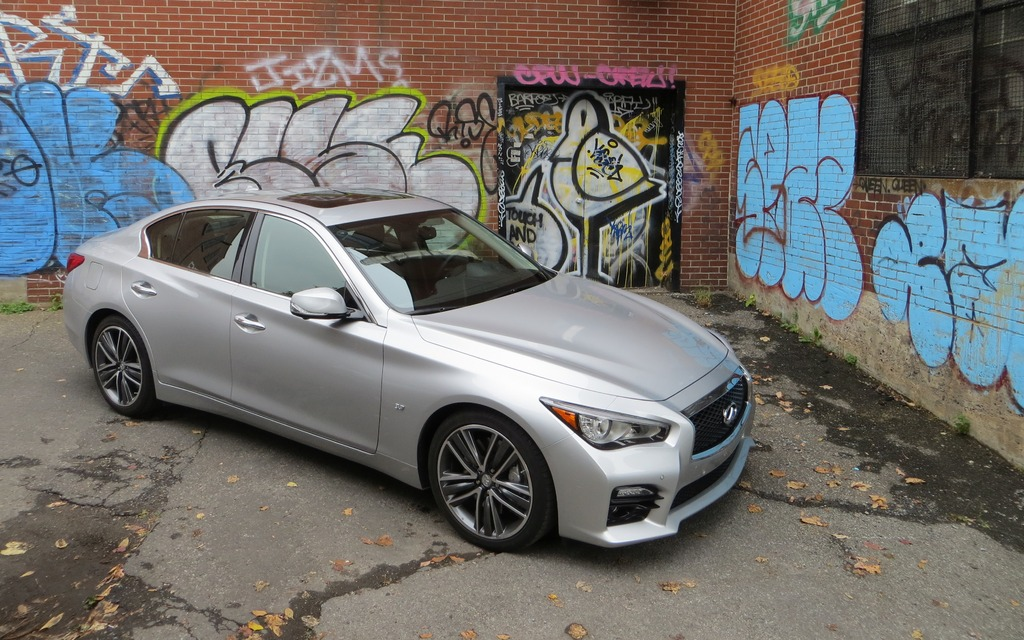 2014 infiniti q50 sport the next stage review the car guide. Black Bedroom Furniture Sets. Home Design Ideas