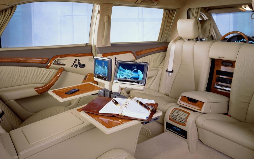5 d un bureau l autre mercedes s600 pullman l. Black Bedroom Furniture Sets. Home Design Ideas