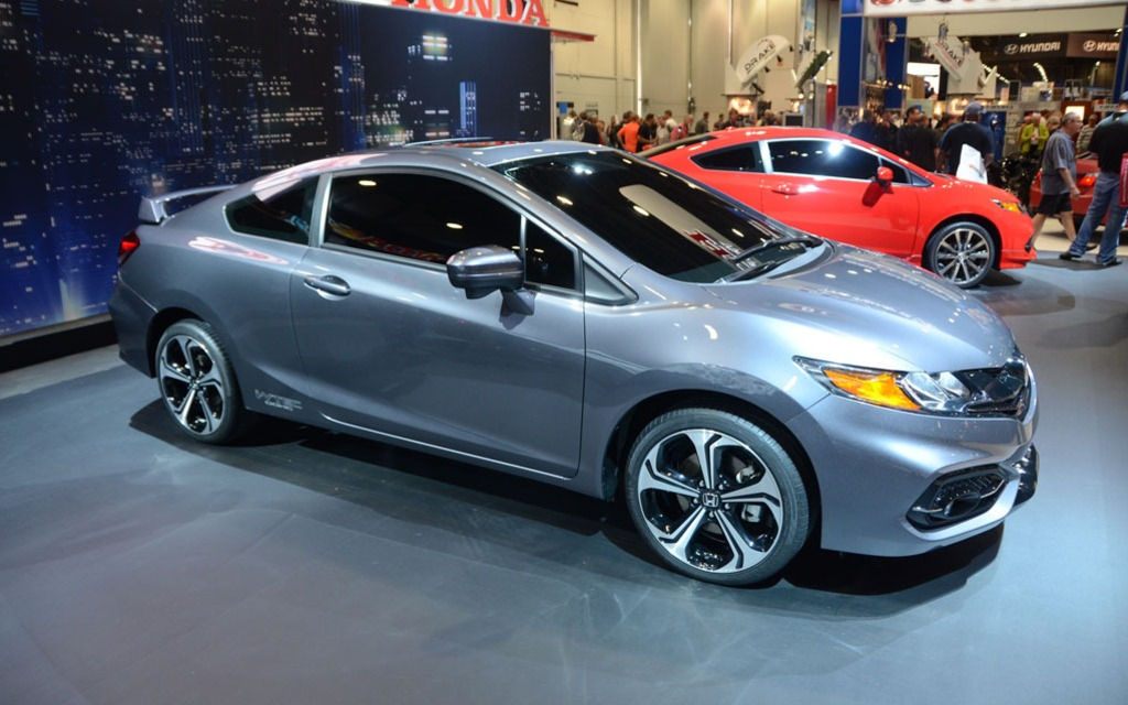 2014 honda civic si coupe to debut at sema the car guide. Black Bedroom Furniture Sets. Home Design Ideas